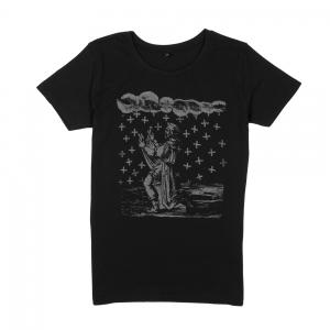 Massimo-Volume-T-Shirt-Donna-Nera-Saint