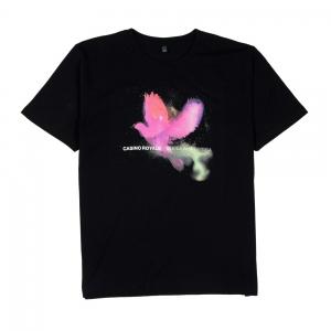 Casino-Royale-T-shirt-Uomo-Nera-Ombra
