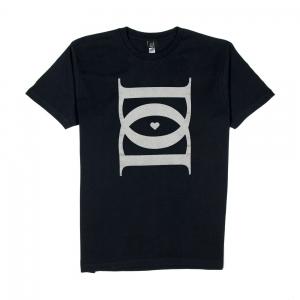 Dargen-D'amico-T-shirt-Uomo-Nera-DD-1