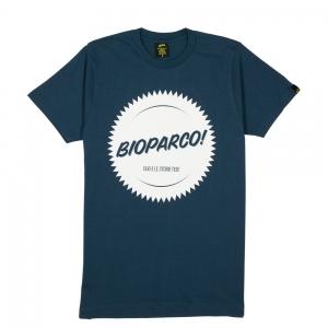 Elio-e-Le-Storie-Tese-T-Shirt-Uomo-Blu-Navy-Bioparco
