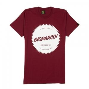 Elio-e-Le-Storie-Tese-T-Shirt-Uomo-Bordeaux-Bioparco