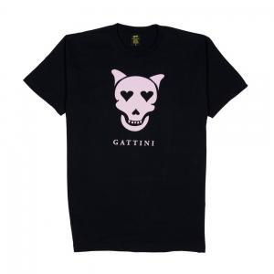 Elio-e-Le-Storie-Tese-T-Shirt-Uomo-Nera-Gattini