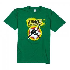 Estragon T-Shirt Uomo Verde Logo Strummer 1