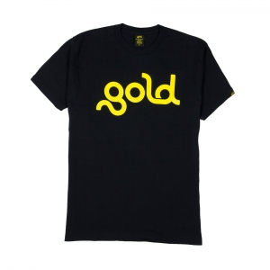 Gold-T-Shirt-Donna-Nera-Logo-1