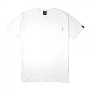 Gold T-Shirt Uomo Bianco Taschino Bianco