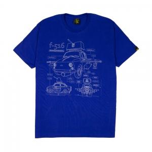 Gold T-Shirt Uomo Blu f-516 1