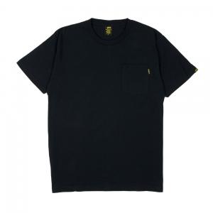 Gold T-Shirt Uomo Nera Taschino Nero 1