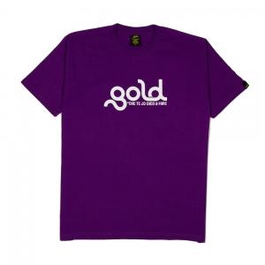 Gold T-Shirt Uomo Viola Che te lo dico a fare 1