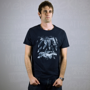 Massimo-Volume-T-Shirt-Uomo-Blu-Fishes-3