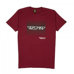 Videomind-T-Shirt-Uomo-Bordeaux-Videomind-AKA