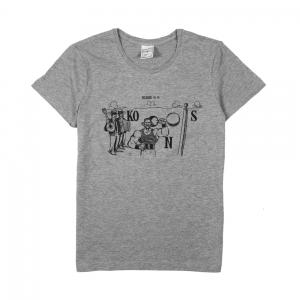 Vinicio-Capossela-T-shirt-Donna-Grigia-Rebus-(8,9)-1
