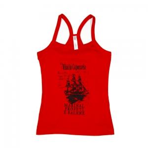 Vinicio-Capossela-T-shirt-Donna-Rossa-Boat-1