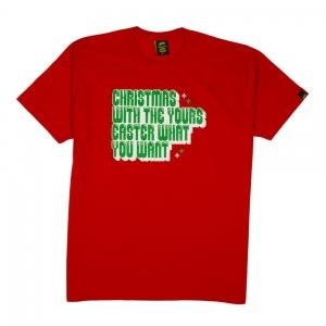 Elio-e-Le-Storie-Tese-T-Shirt-Uomo-Rosso-christmas-easter