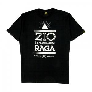 Gold-T-Shirt-Uomo-Nera-Kaddour-Kouachi-1