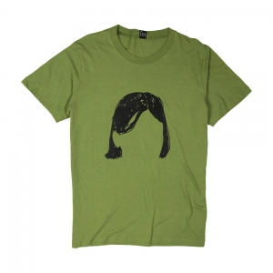 The-Park-T-Shirt-Uomo-Verde-Hairs-1