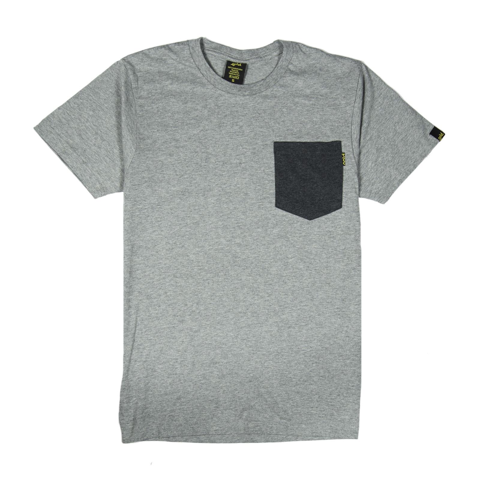 online store c73c0 c493d Gold T-shirt Uomo Grigia Taschino Grigio Scuro