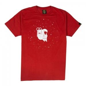 Gold-T-Shirt-Uomo-Rossa-Astronauta-1