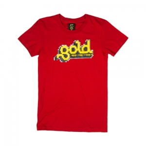 gold-t-shirt-donna-rossa-pixel-1