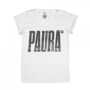 Allarmismo-T-Shirt-Donna-Bianco-Paura