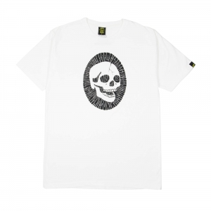 Gold-T-shirt-Uomo-Bianca-Tutti-morimmo-a-stento