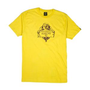 Gold-T-shirt-Uomo-Gialla-MES-Alkemy-1