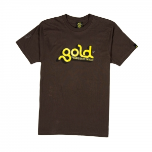 Gold T-shirt-Uomo-Marrone-Loading