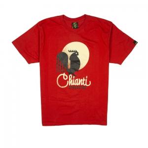 Gold T-shirt-Uomo-Rossa-Chianti Pride