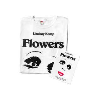 Lindsay-kemp-combopack-t-shirt-dvd-flowers