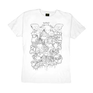 Gold-T-Shirt-Uomo-Nera-GUIM