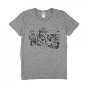 Vinicio Capossela | T-shirt Donna Grigia Rebus (7,9)