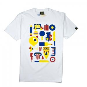 Gold-T-Shirt-Uomo-Bianca-Mille-Lemmi-1