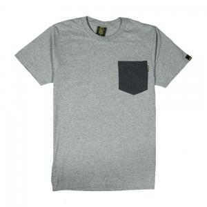 Gold-T-Shirt-Uomo-Grigia-Taschino-Melange-1