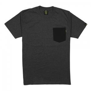 Gold-T-Shirt-Uomo-Melange-Taschino-Grigio-Scuro-1