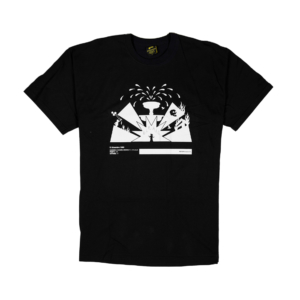 Gold-T-Shirt-Uomo-Nera-Piazza-Fontana-1
