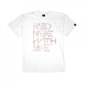 Gold T-shirt - Uomo - Bianca - Hand Made With Love-1