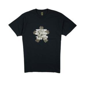 Gold-T-shirt-Uomo-Nera-Astercan-1