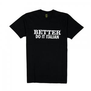 Gold T-shirt - Uomo - Nera - Better Do It Italian