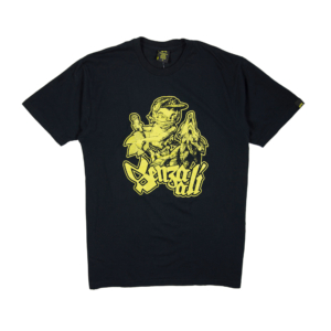 Gold-T-shirt-Uomo-Nera-Senza-Ali-1