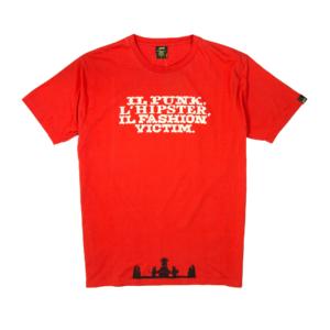 Gold-T-shirt-Uomo-Rossa-Fashion-Victim-1