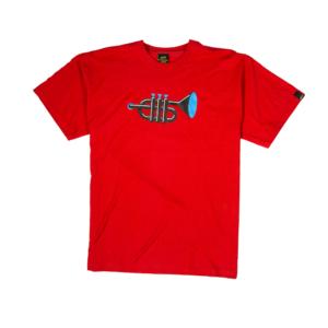 Gold-T-shirt-Uomo-Rossa-Trumpet-1